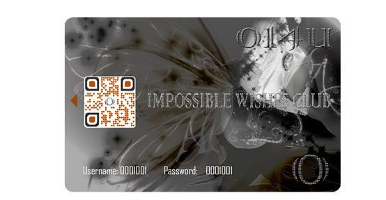 impossible wishes club card